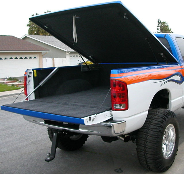 Dodge lifted Ram Droptail CUstom truck & bed lid.